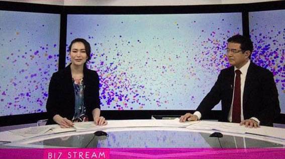 NHK World新経済番組Biz Streamにコメンテーターとして出演